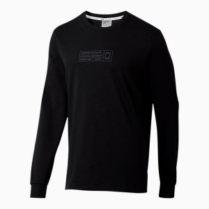 Bounce Long Sleeve Men's Basketball Tee PUMA