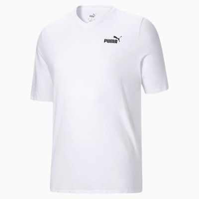 Essentials+ Men's V-Neck Tee BT PUMA
